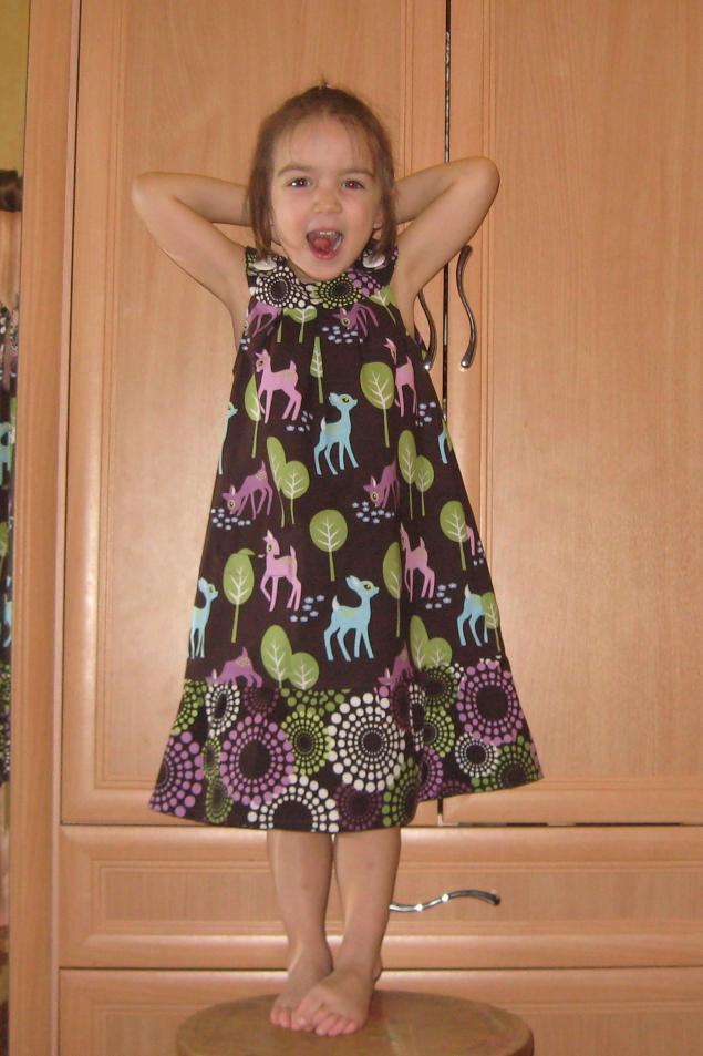 платье для садика