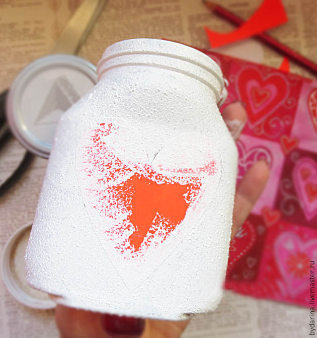DIY Jar With Wishes For Valentine's Day, фото № 5