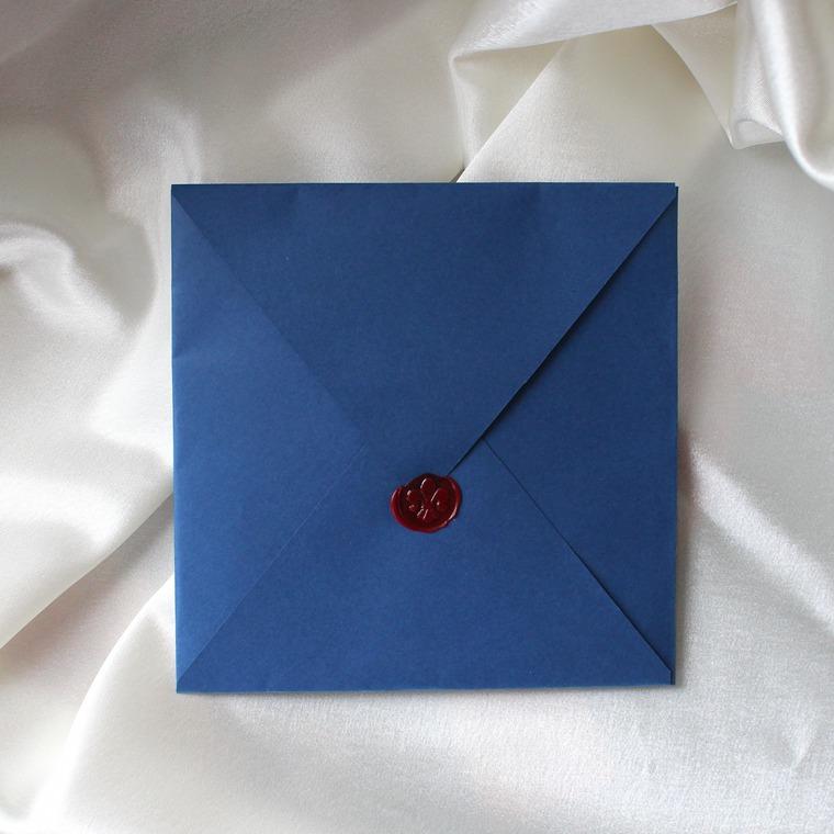 Сургучная печать на конвертах, фото № 1