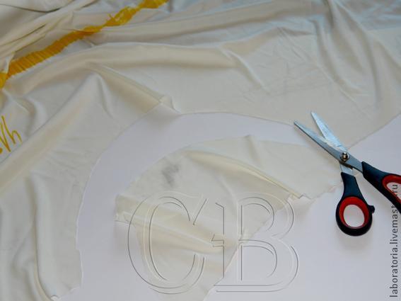Юбка из бракованной ткани (не совсем мастер-класс), фото № 2