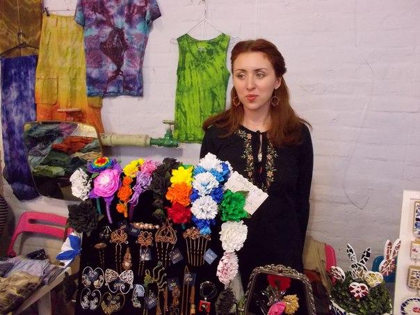 благотворительный маркет, цветочные украшения, handmade