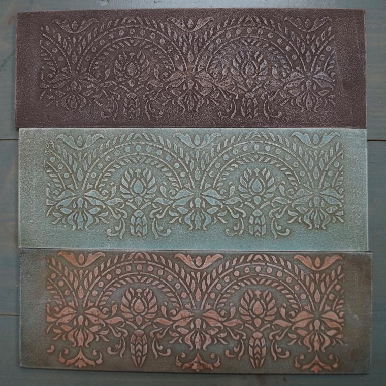 Тиснение орнамента на мебели. Мастерская Натальи Строгановой. Отчет. Часть 2, фото № 22