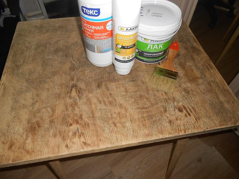 Как покрыть лаком мебель