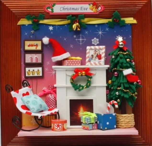 Новогодние украшения для кукол своими руками 26