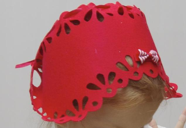 Как сшить шапку как у красной шапочки