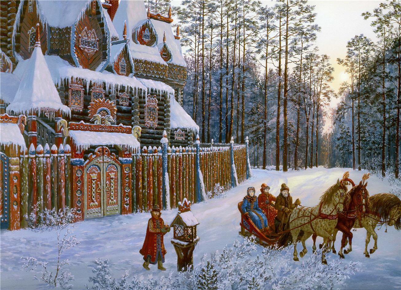 Поздравление с новым годом у славян
