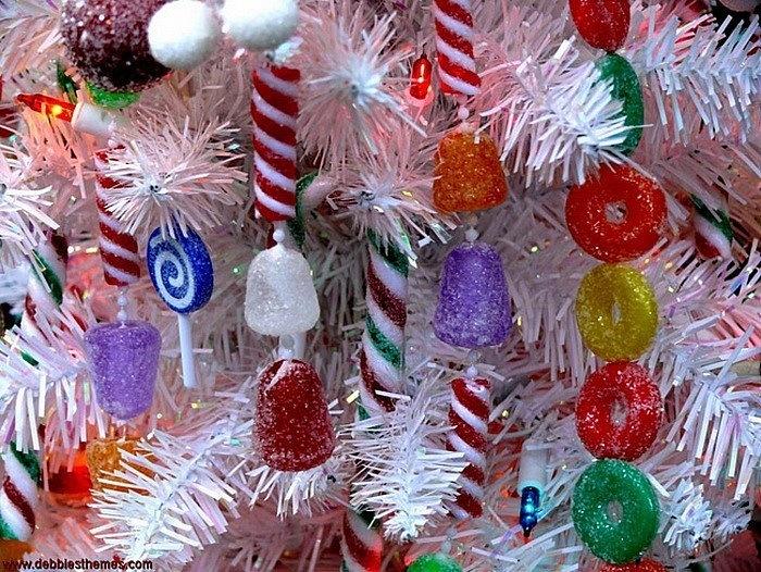 Съедобные украшения на новый год своими руками