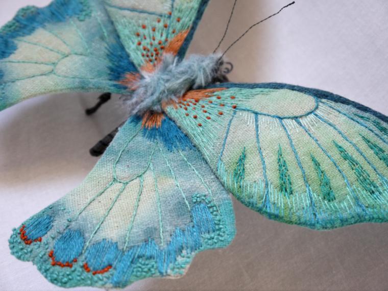 Текстильные шедевры, или Бабочки как источник вдохновения, фото № 34