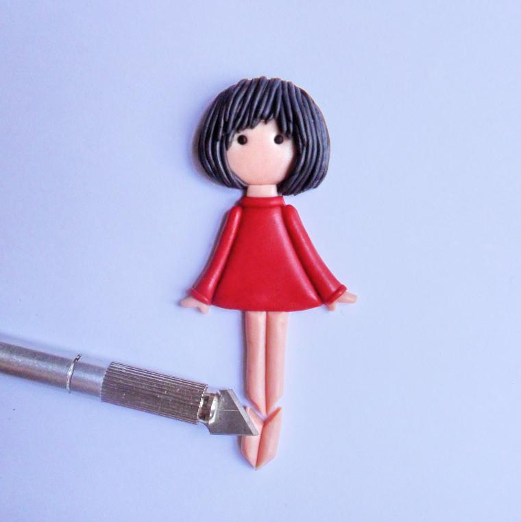 Куклы-броши своими руками