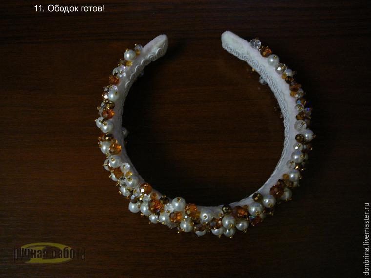 Ободок в стиле дольче габбана своими руками 16