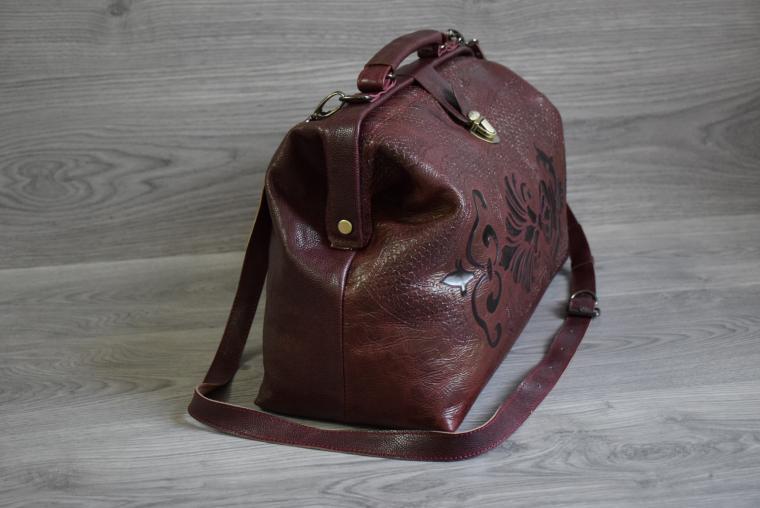 купить саквояж, сумка кожаная, сумка из кожи