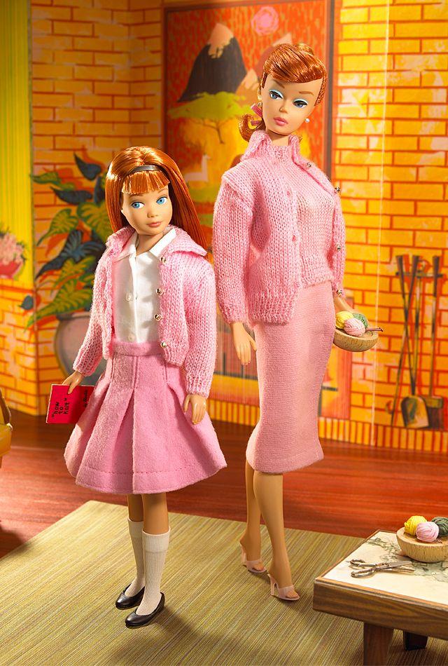 Барби и ее вязаный гардероб – Ярмарка Мастеров