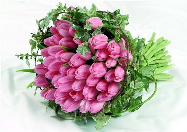 с 8-м марта, поздравление, мастерицы, покупателям, тюльпаны, праздник, открытка