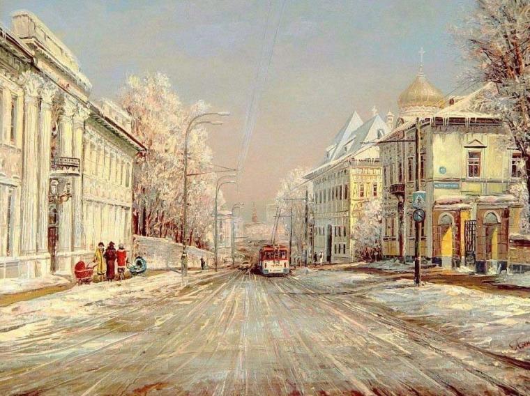 города на картинах