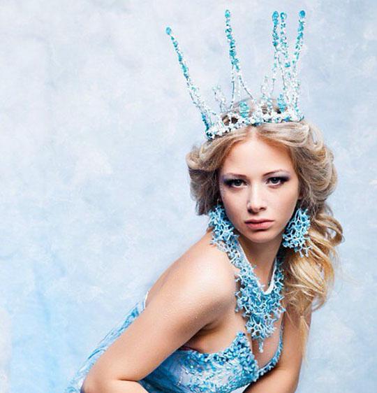 снежная королева, корона