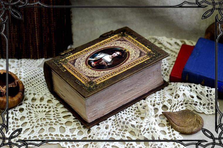 шкатулка-книга, декупаж для начинающих
