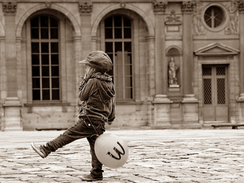 С шариком