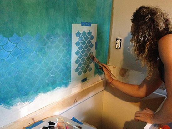 Колоритно и фактурно 20 креативных идей для декора стен и пола, фото № 16