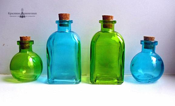 флаконы с пробками, цветные бутылочки, пузырьки флакончики, разноцветные бутылки, стеклянное счастье, летние цвета, радость, новинки магазина, новый привоз, для кухни дома, волшебство, колдовская кухня, для зелья колдовского, фотографу, радуга цвет, фиолетовый, синий, красный, розовый, зеленый