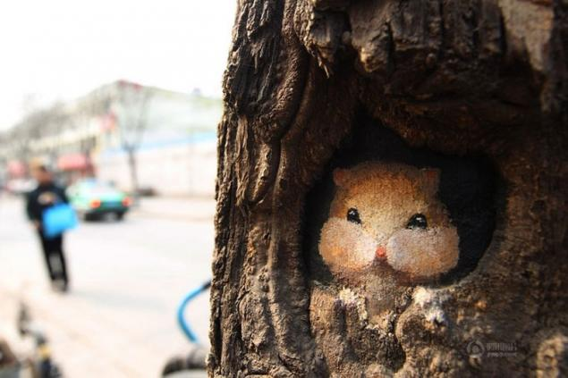 Tree-art, или Роспись деревьев, фото № 8