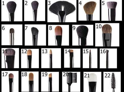 интересно, полезные советы, кисти для макияжа, макияж