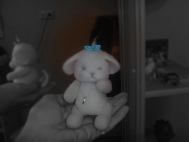 мышка, игрушка из войлока, новый год 2015