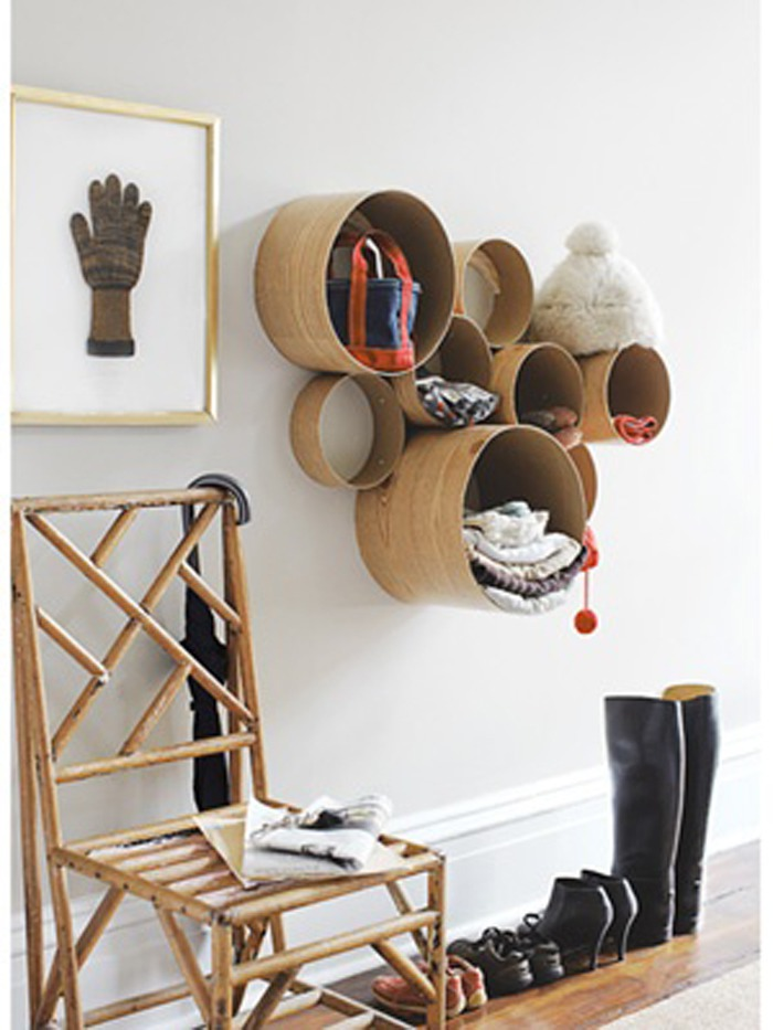 Полки для шапок своими руками