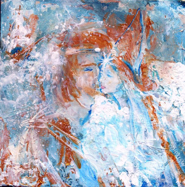 картины алёны коневой, картина сказка, картина море, картины сказки