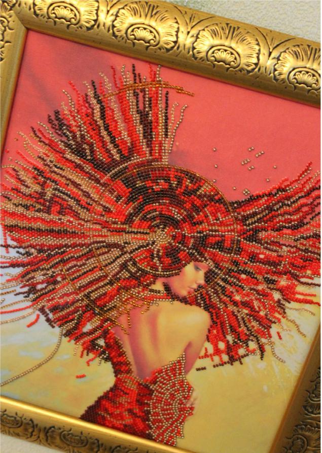 вышивка бисером, картины