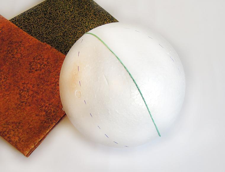 текстильный шар