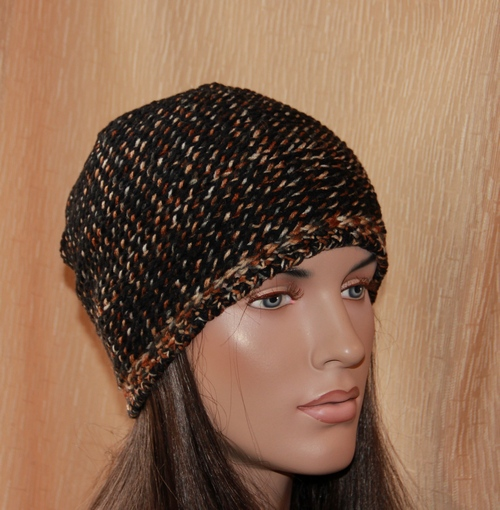 шапка двухсторонняя