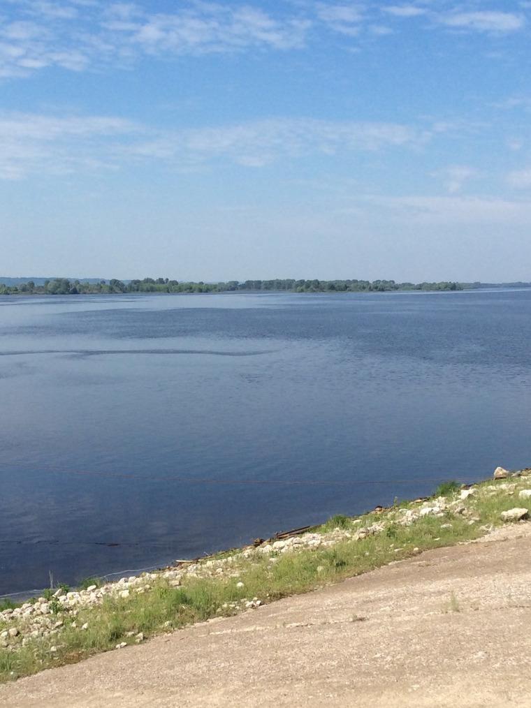 Великая река Волга в работах живописцев и фотохудожников, фото № 16