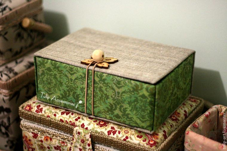 Шкатулка-комод из картона. Автор Елена Никитина 66