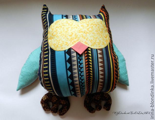 Подушка - развивайка Сова.
