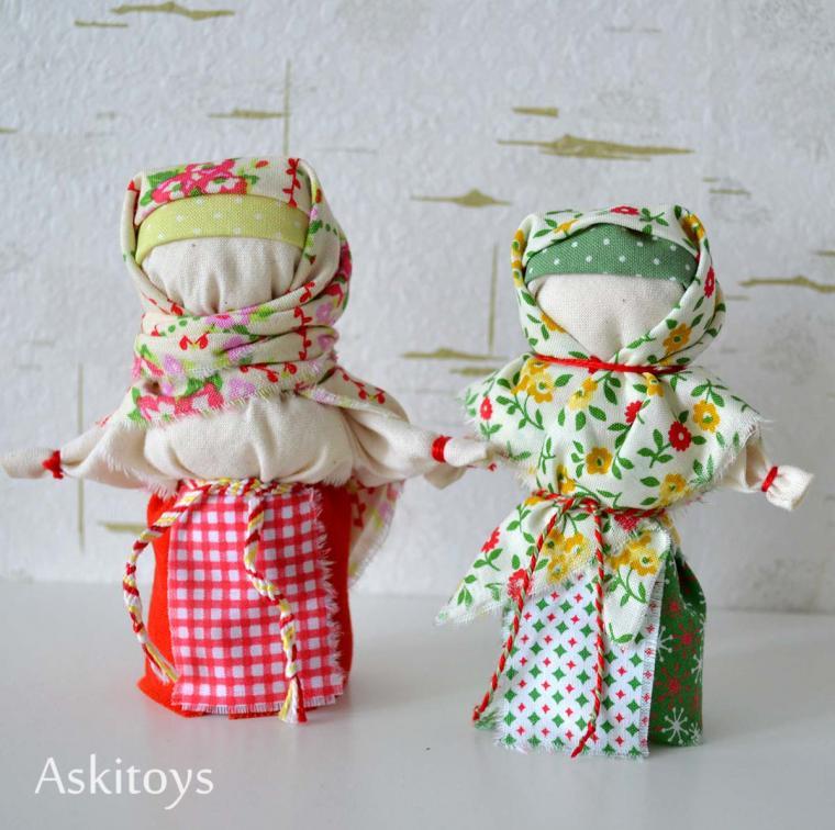 Кукла из ткани русское народное