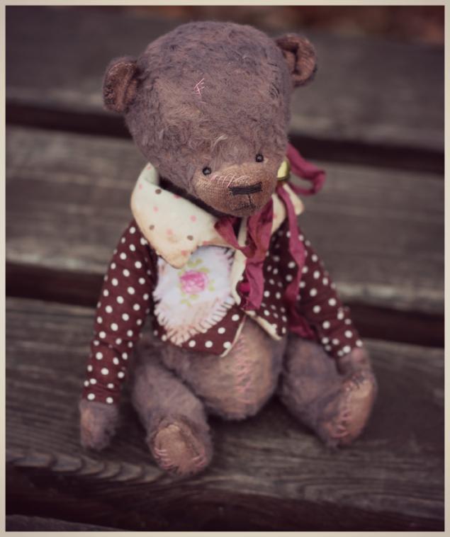 тедди, винтажный мишка