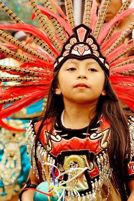 Young dancer, Queretaro, Mexico