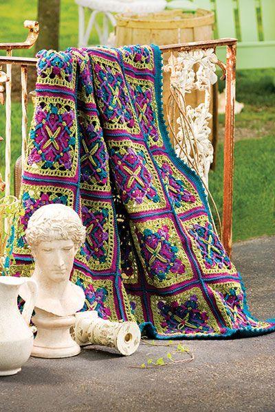 Talking Crochet ... Joyous Squares
