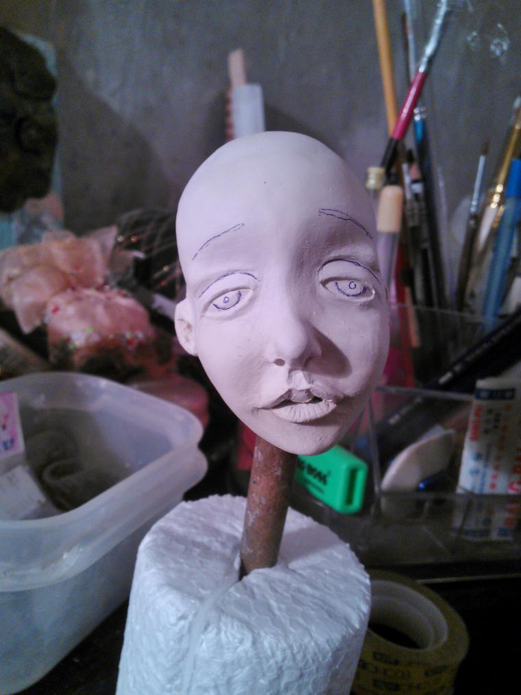 Создание куклы из керапласта: особенности работы с материалом