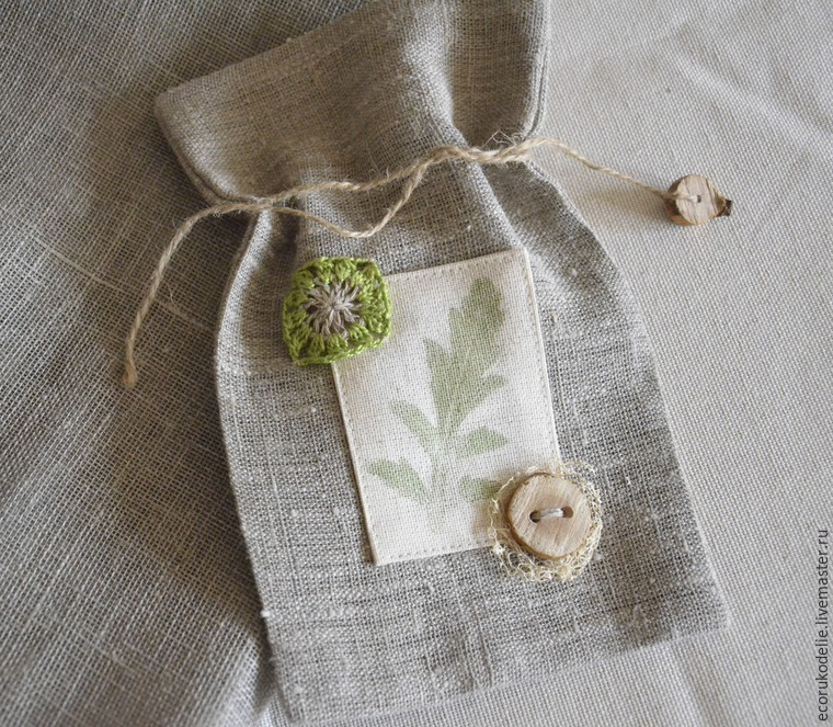 How to Make Plant Prints on Fabric, фото № 16