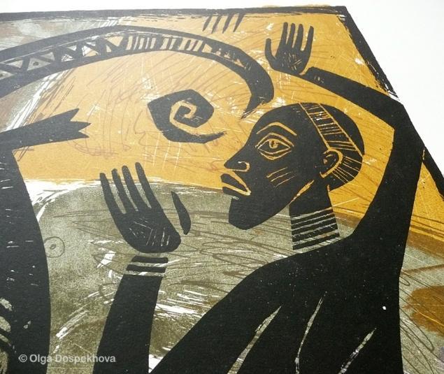 этнический, акрил, символизм, скидка