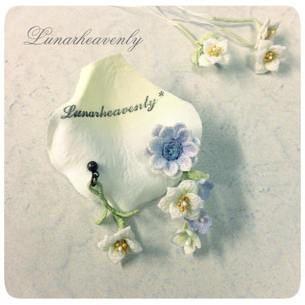钩针:和谐的小花朵 - maomao - 我随心动