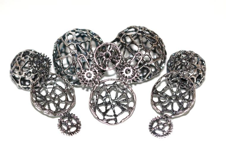 авторское серебро, чернение, литье серебра