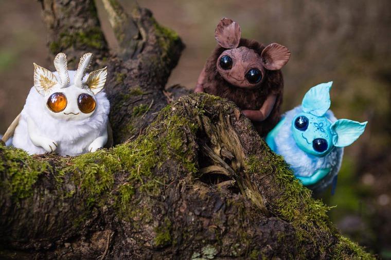 весна, волшебство, коллекционная игрушка, существа