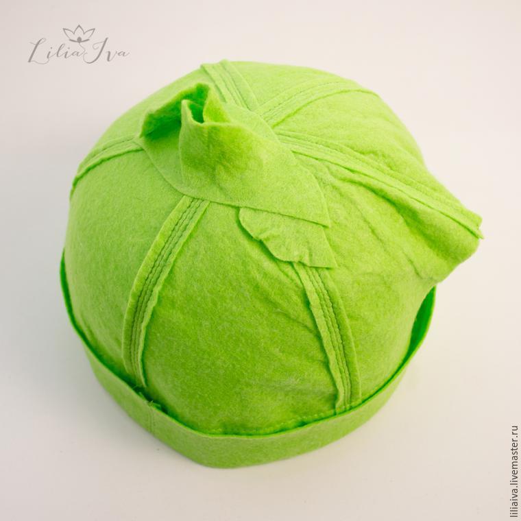 Шьем шапочку-капусту для детского капустника, фото № 10