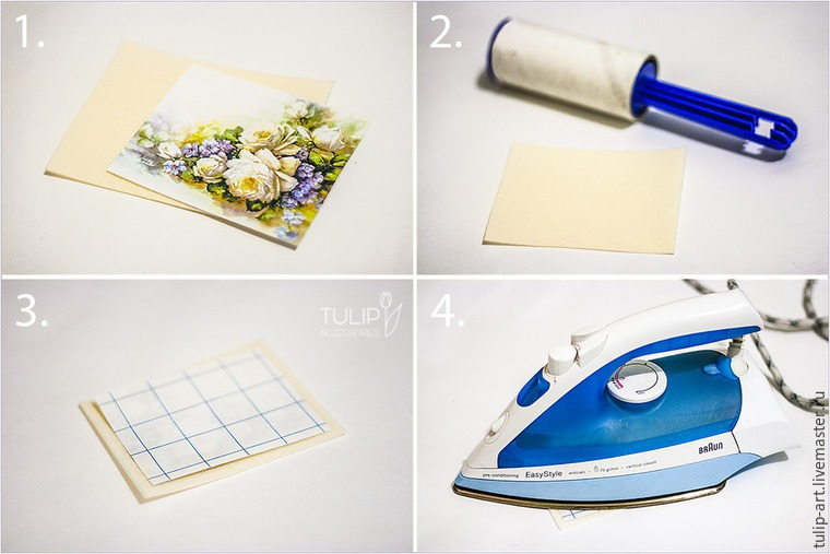 Sewing a Pretty Spring Vanity-Case of Felt and Fabric, фото № 8