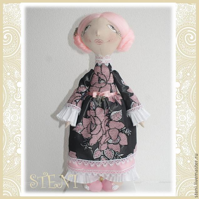 куклы, кукла своими руками, авторская кукла, авторская игрушка, мастер-класс, текстильная кукла, интерьерная кукла