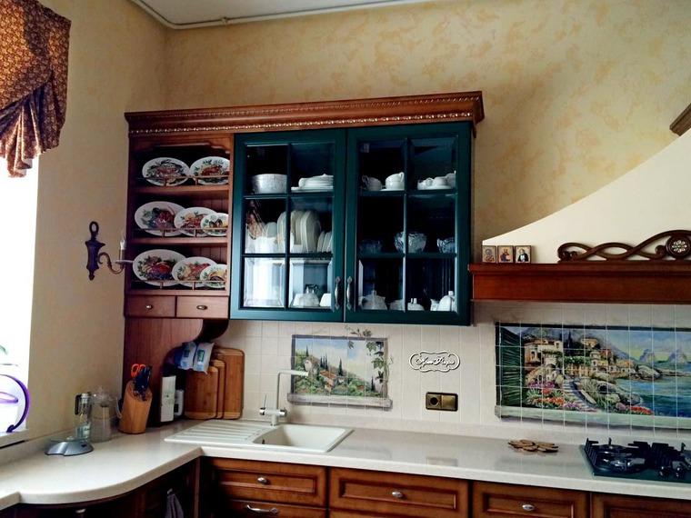 Декорирование стен тарелками, фото № 33
