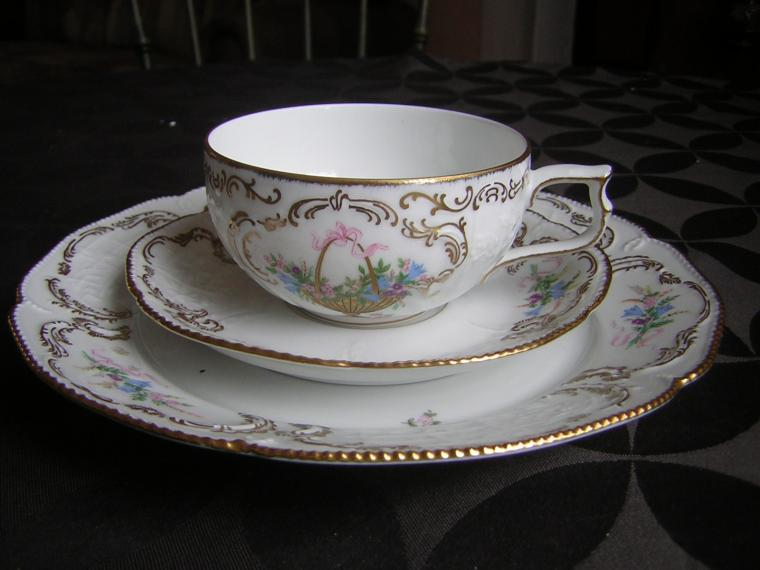 стиль, чаепитие, ретро, европа