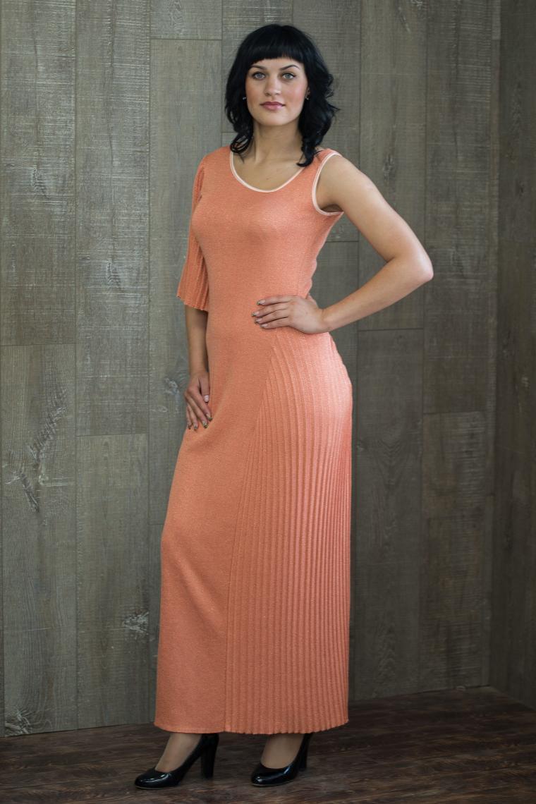 аукцион сегодня, аукцион на платье, нарядное платье аукцион, персиковое платье аукцион, вязаное платье аукцион, платье в пол аукцион